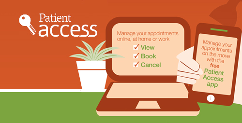 Patient Access. Manage your appointments online at home or work.